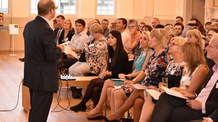 The charity crowdfunding event at St Albans Museum + Gallery. Picture: Sweet Charity