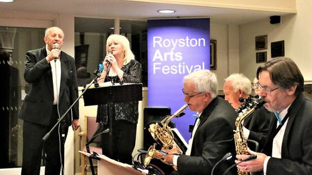 The Blue Skies Big Band concert. Picture: Ray Munden