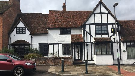 One of the beautiful buildings on Wheathampstead's historic High Street
