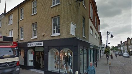 The store in St Ives that will be closing down