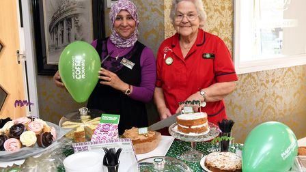 Sherifa Kamel and Maureen Prior at Ferrars Hall. Picture: ARCHANT