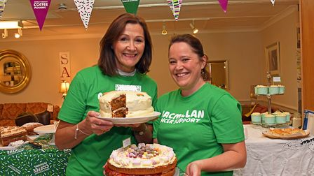 Sue Pittams and Amy Enright at Elphicks. Picture: ARCHANT