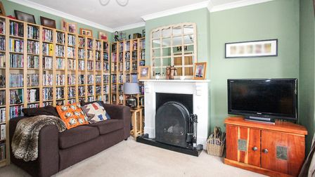 One of the property's two reception rooms. Picture: Town & Country