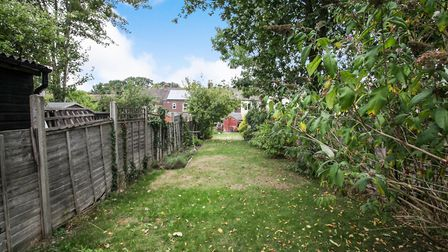There is a large garden to the rear. Picture: Town & Country