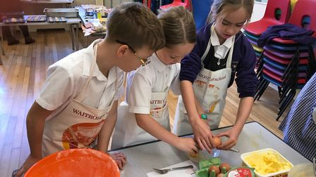 The Harvest Project. Picture: Therfield First School