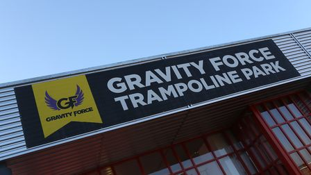 Gravity Force Trampoline Park in St Albans. Picture: Danny Loo.