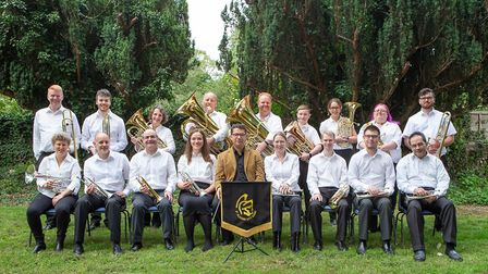 St Albans Brass Band is putting on a WWI centenary concert. Picture: Kenny Durbin