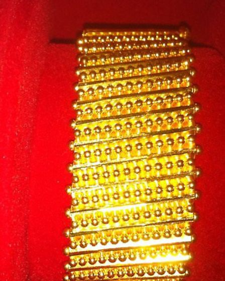 A piece of jewellery stolen from a St Albans home in September.