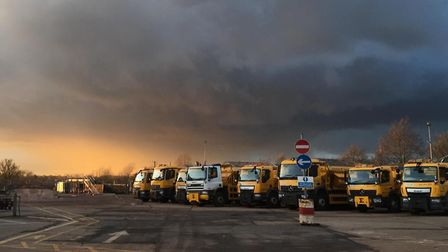 Cambridgeshire County Council's gritters
