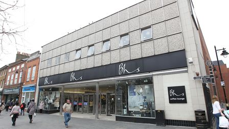 The BHS site on St Peter's Street. Picture: Danny Loo.