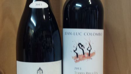 Wines from the Rhone Valley.