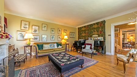 The sitting room is seriously spacious. Picture: Strutt & Parker