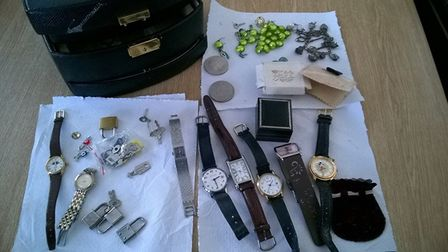 Police are trying to trace the owner of this jewellery box