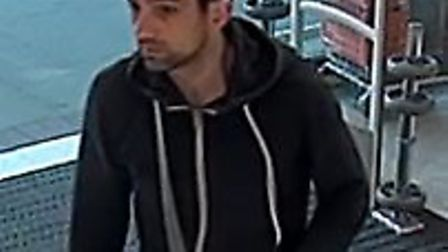 Police believe this man may be able to help with an investigation into the theft of a woman's purse