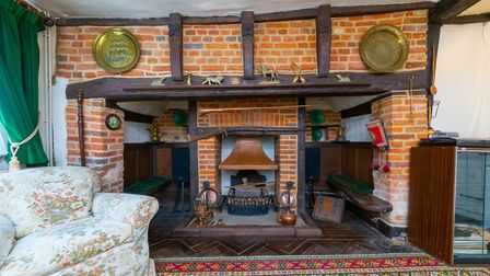 The property boasts several feature fireplaces. Picture: Charter Whyman