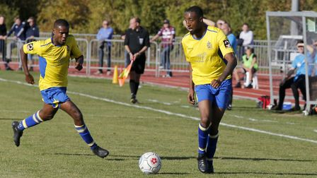 St Albans City warmed up for their FA Cup tie with Corinthian Casuals with a fine win against Chelms
