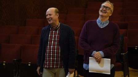 Vulcan starring Nigel Planer and Adrian Edmundson is at Cambridge Arts Theatre