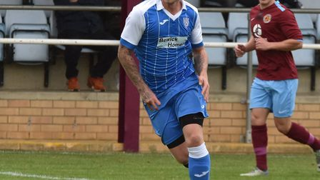 Callum Milne saw a penalty saved as Eynesbury Rovers were beaten by Rugby Town. Picture: J BIGGS PHO