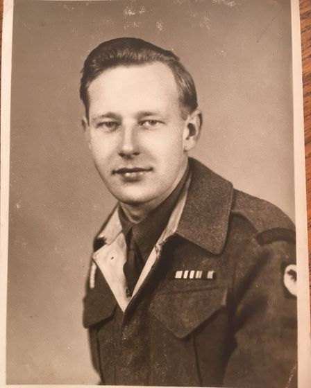 Michael Fellows when he served in the Second World War