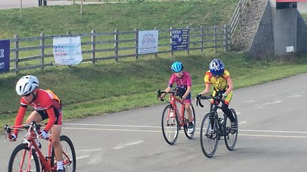 Verulam Reallymoving's Tyler Six took third in the U10 race at the Preston Park CC Autumn Classic in