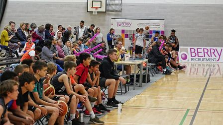 A big crowd looks on during an Oaklands Wolves match