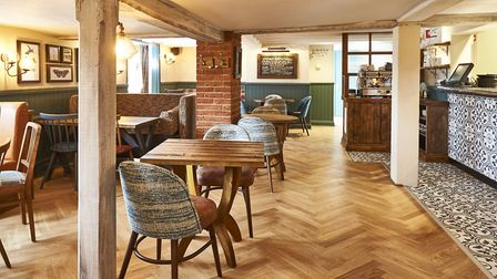 The newly-refurbished White Horse pub in Tilbrook. Picture: FRASERSHOT STUDIOS