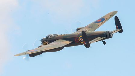 Lancaster of the BBMF. Picture: Gerry Weatherhead