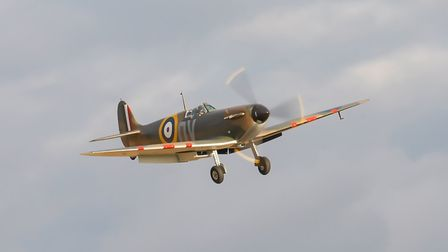 Spitfire Mk. Picture: Gerry Weatherhead