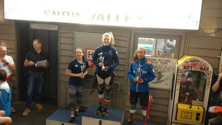 Olivia Howeson tops the podium