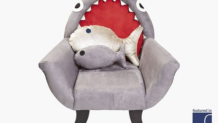 Snap happy: The Great Grey Shark Chair, 445, ww.reroom.co.uk