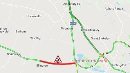 Drivers are warned as part of the A14 is to be closed
