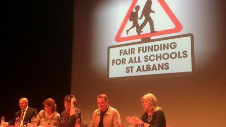 Fair Funding For All Schools St Albans meeting.
