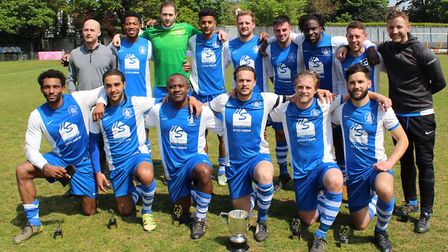 NBOB won the Herts Ad Sunday League Knockout Cup in 2017.