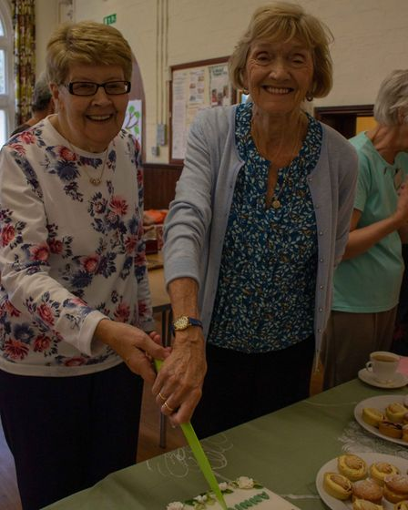 St Mary's WI in St Neots celebrated 30 years