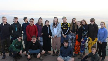 BVC students in Tanzania. Picture: BVC