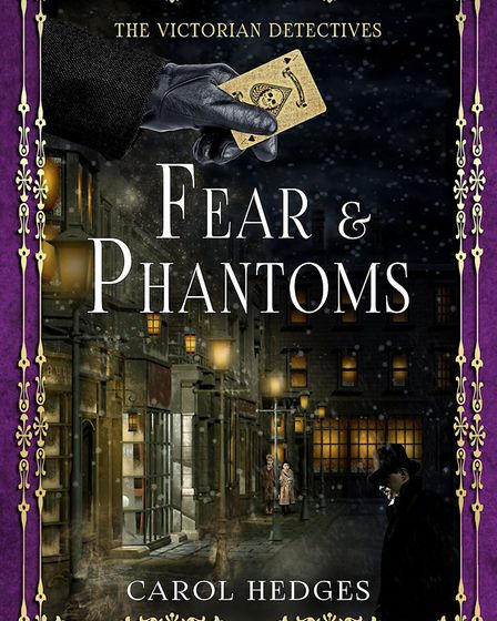 Fear and Phantoms by Carol Hedges. Picture: Carol Hedges