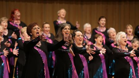 Potton-based Phoenix Chorus have members from across North Herts, Cambridgeshire and Bedfordshire an