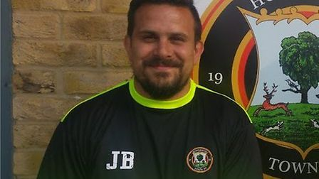 Jimmy Brattan has returned to Huntingdon Town in a managerial role. Picture: HUNTINGDON TOWN FC
