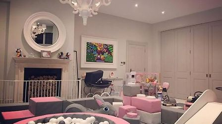Luisa's daughters have the ultimate in-house playroom to enjoy. Picture: @luisazissman/Instagram