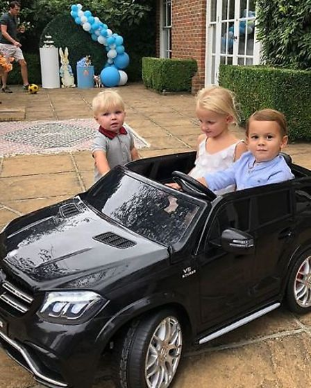 This snazzy set of wheels leaves the average kid's Cozy Coupe in the shade. Picture: @samanthafaiers