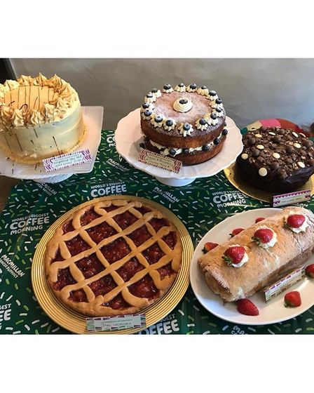 Teacake's creations for their charity coffee morning. Picture: Courtesy of Jodie Allard