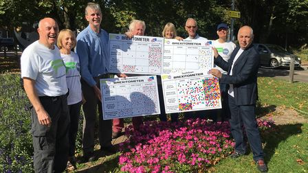 Remain group conduct street polls for People's Vote National Day of Action. Picture Harpenden for Eu