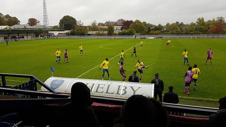 The FA Cup second qualifying round replay between Corinthian Casuals and St Albans City took place o
