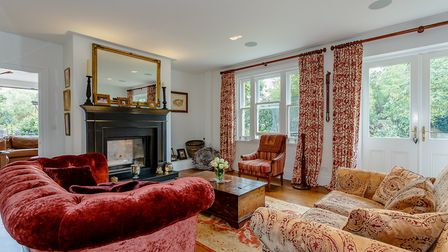The sitting room opens out onto the garden. Picture: Hamptons