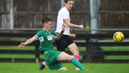 New signing David Mooney on his Crows debut against Bedworth. Picture: Karyn Haddon