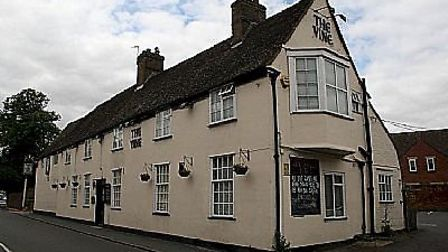 The fundraising event at The Vine in Buckden will be held on Saturday.
