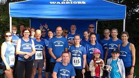 Wheathampstead Warriors bought a new gazebo with funding from 948 Sports Foundation. Picture: Fiona