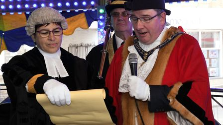 The annual Michaelmas celebrations in St Ives. Picture: ARCHANT