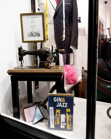 St Albans George Street Gin and Jazz event. A variety of boutique shops benefitted from the event. P