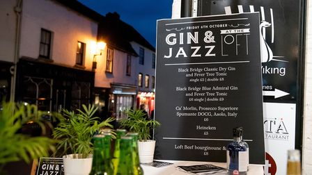 St Albans George Street Gin and Jazz event. Picture: Stephanie Belton